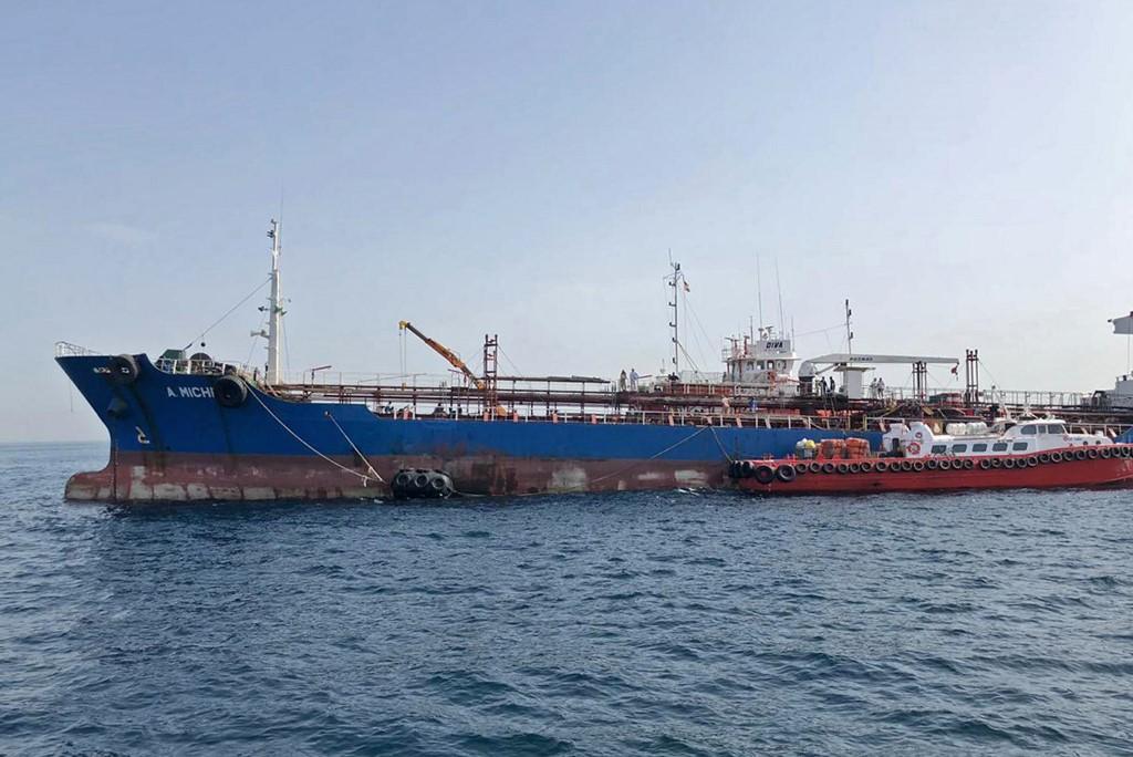 Emirátusok: Iráni búvárok tapasztottak aknákat a tankerekre