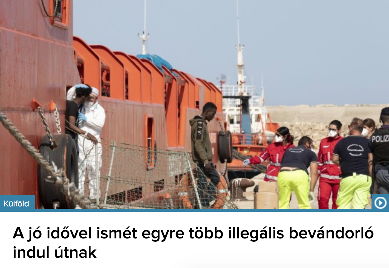 Kiáradt a Szentlélek, jönnek a migránsok