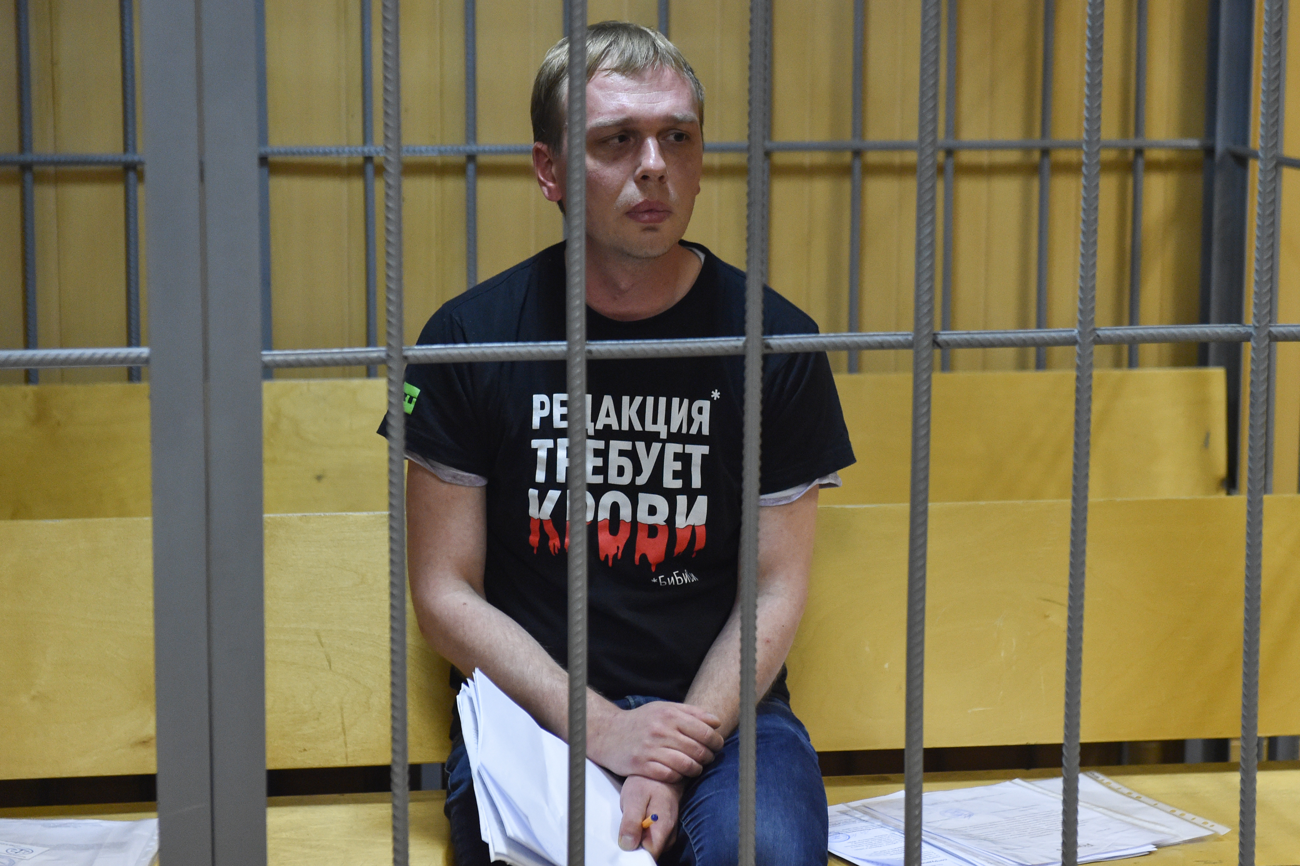 Az orosz kormánymédiában is kiállnak a fogházban megvert és meggyanúsított újságíró mellett