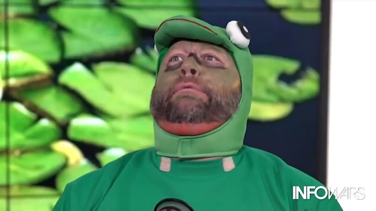 Az Infowars 15 ezer dollárt fizet Pepe, a béka alkotójának