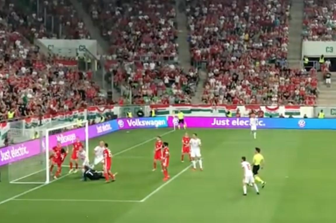 Orban is közel járt a gólhoz