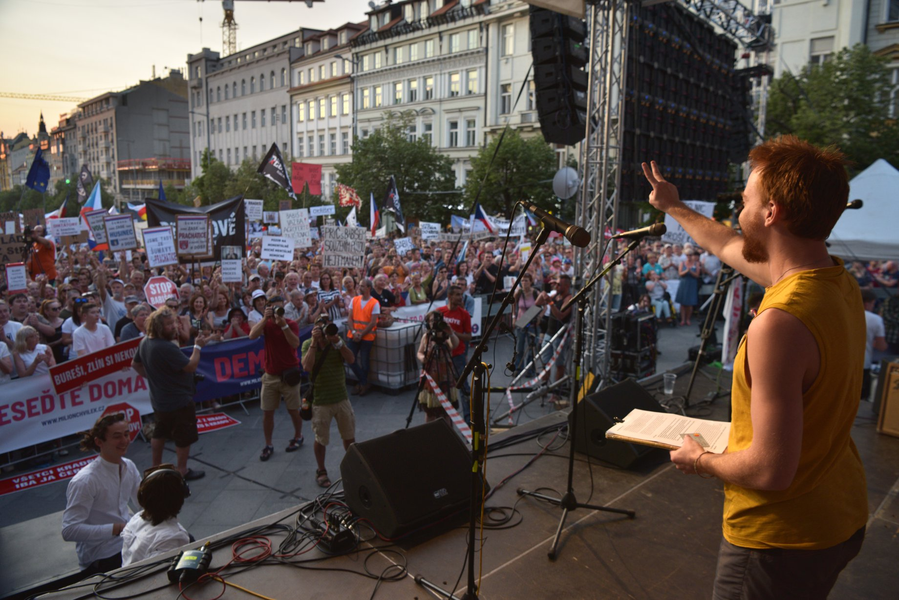 """""""Nem akarunk Orbán-féle nacionalizmust Csehországban"""""""