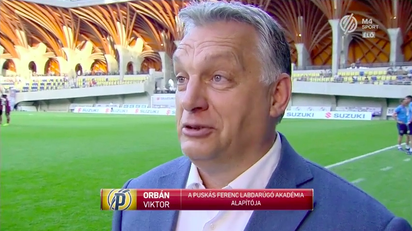 Icipicit talán füllentett Orbán Viktor, amikor a Puskás Akadémia eredményeivel büszkélkedett