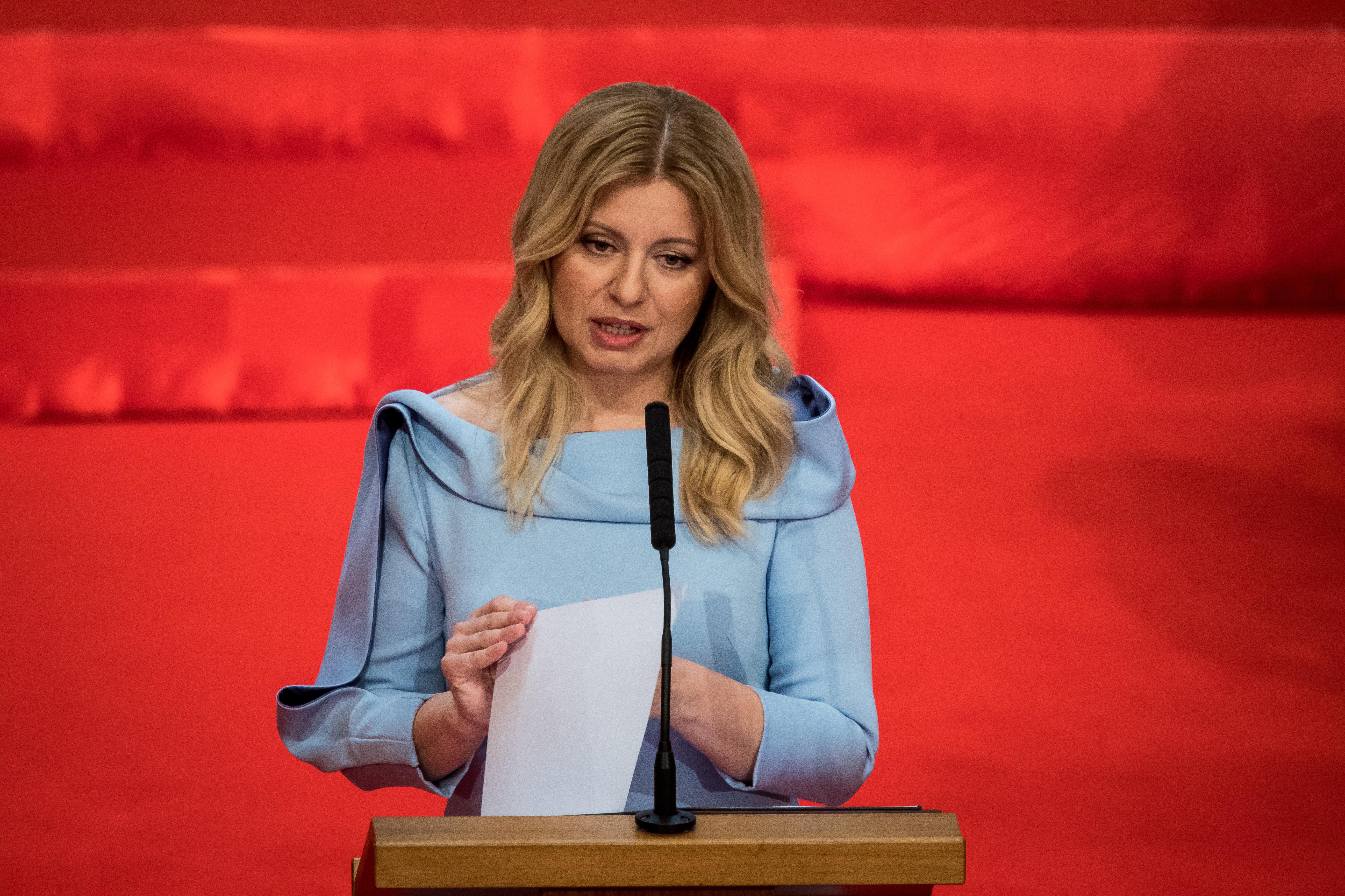 Beiktatták az új szlovák elnököt