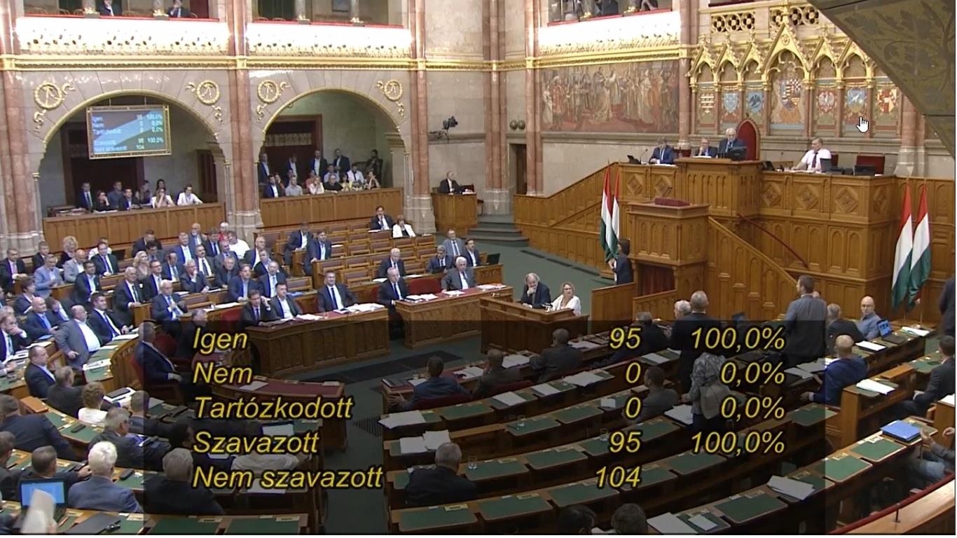 El akarták venni a szót a jobbikos képviselőtől, amikor a magánrepülőzésekről kérdezte Orbánt