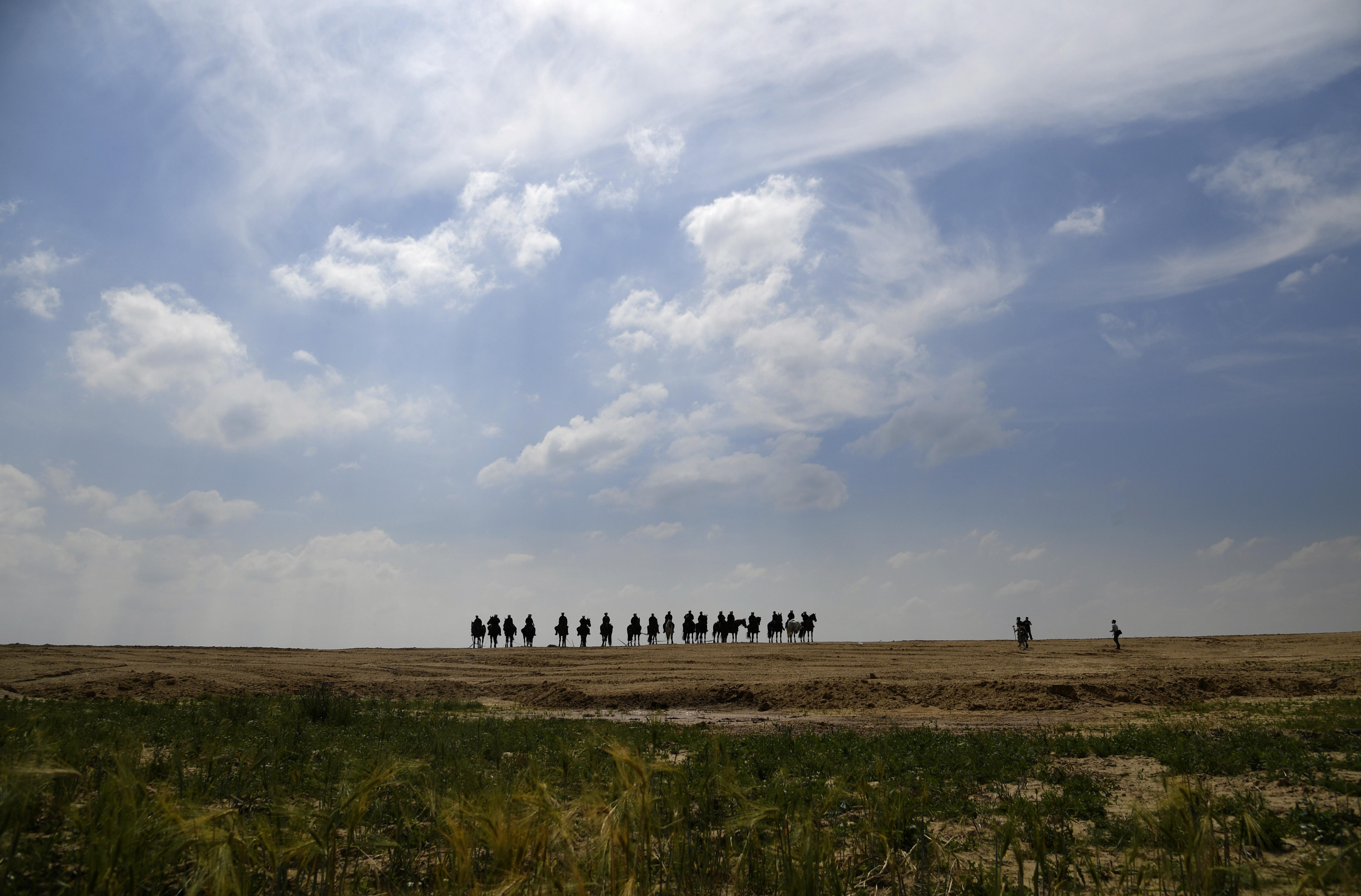 Környezetvédők szálltak meg egy hatalmas szénbányát Németországban