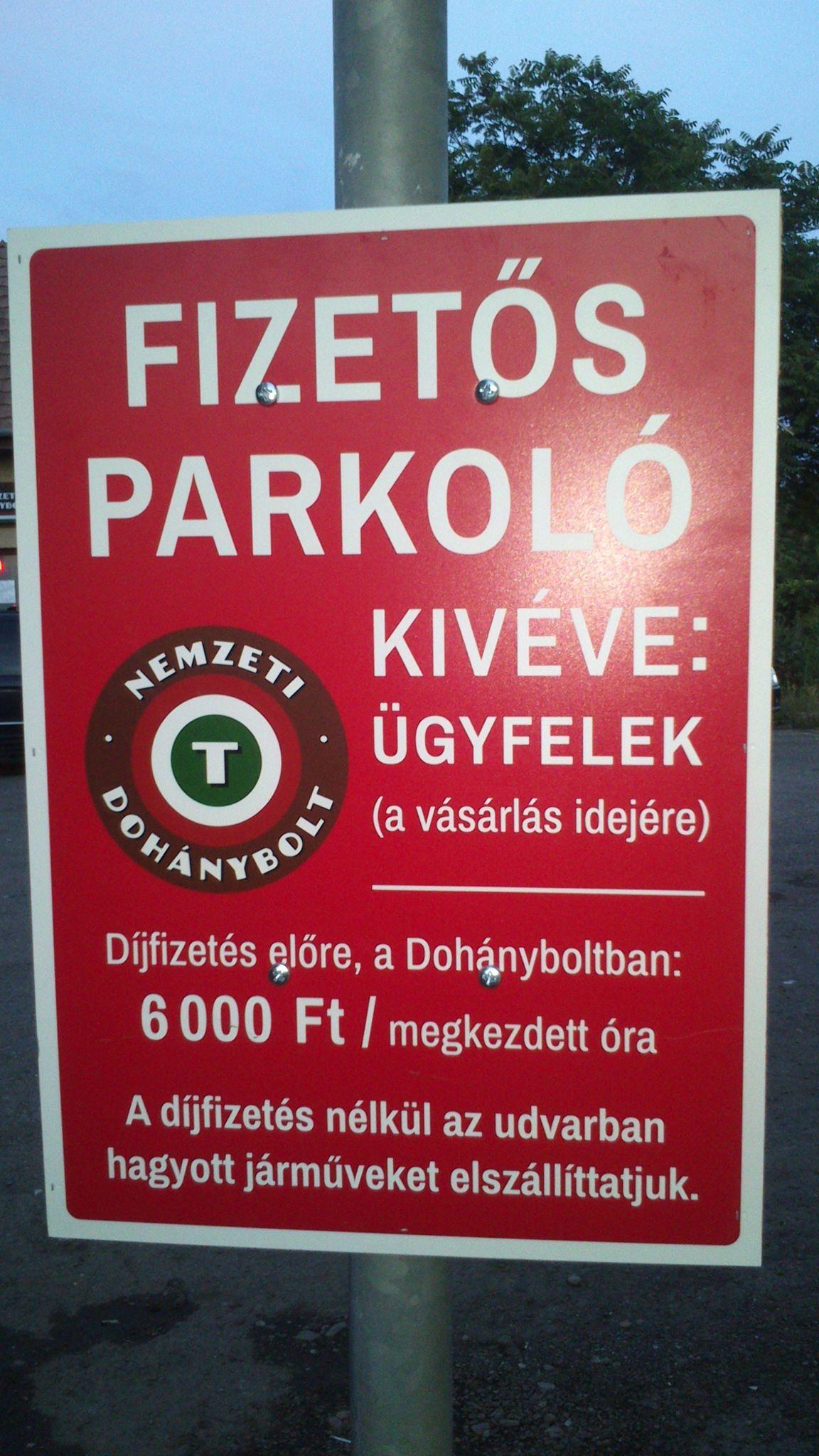 Az erdőkertesi vasútállomásnál van az ország legdrágább parkolója