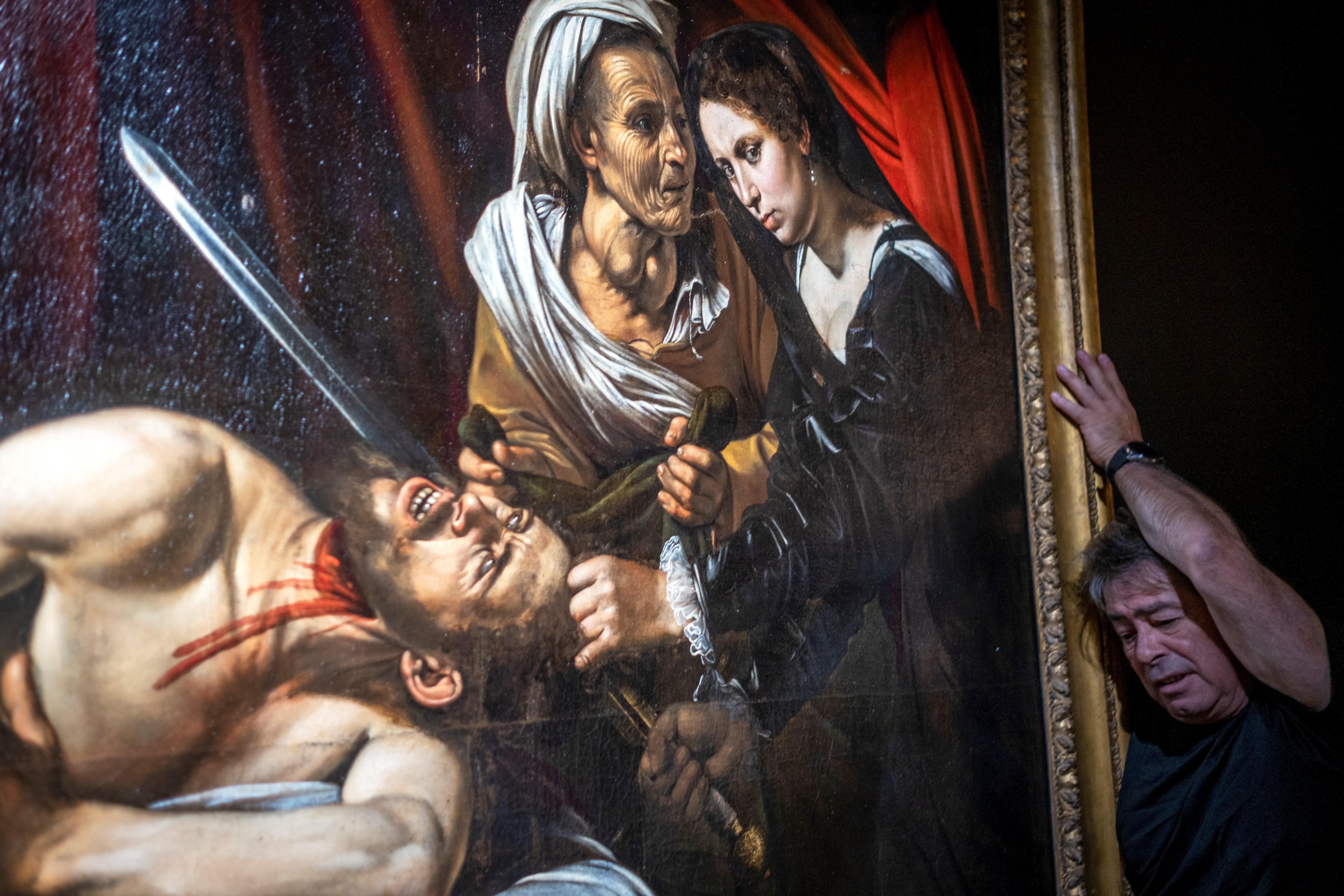 Elkelt a francia padláson megtalált Caravaggio-festmény