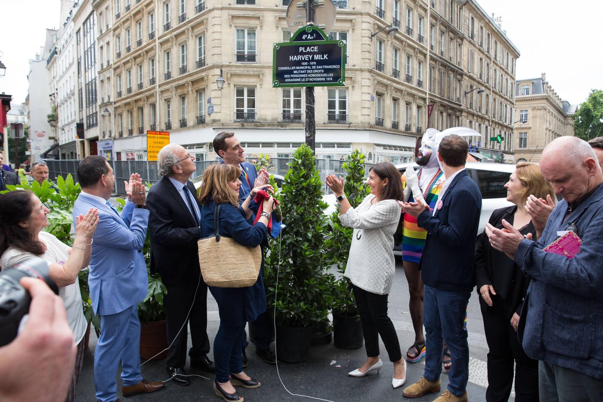 Híres melegjogi vezetőkről neveztek el köztereket Párizsban