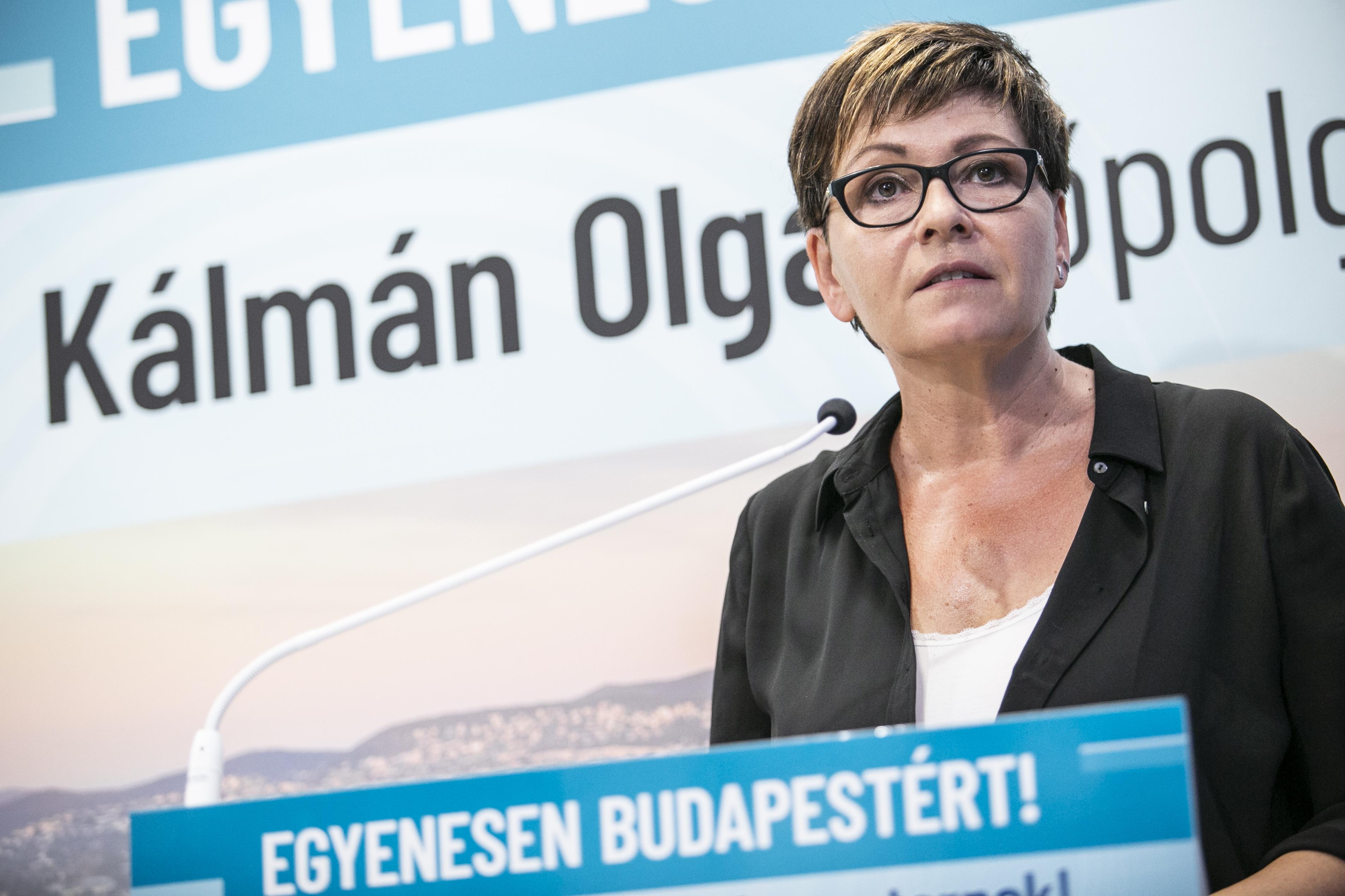 Kálmán Olga szeretne bekerülni a DK elnökségébe