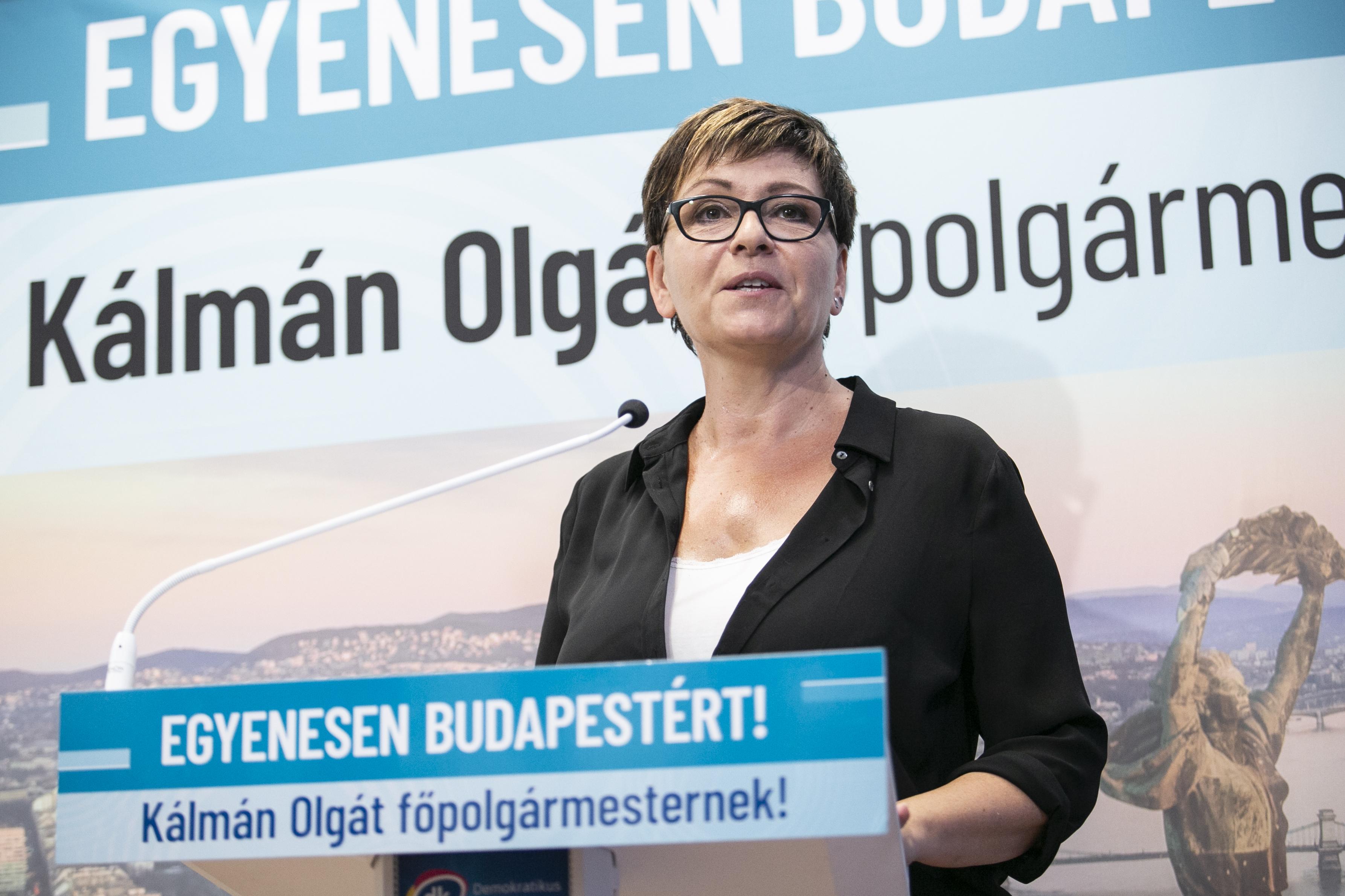 Kálmán Olga belépett a pártba és főtanácsot ad az alpolgármesternek