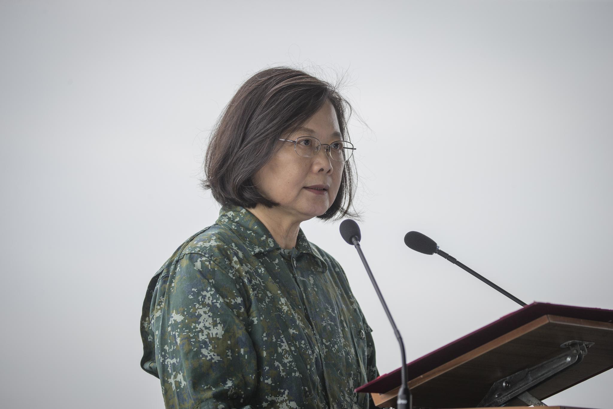 Tajvan elnöke demokratikus szövetséget sürget Kína ellen