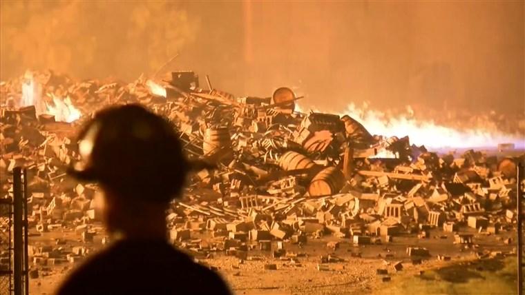 Leégett a Jim Beam egyik raktára, benne 45 ezer hordó whiskyvel