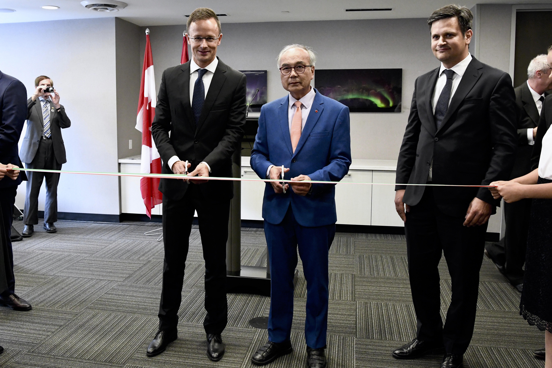 Szijjártó: A Kanada távoli pontjain élő magyarok is számíthatnak a kormány támogatására