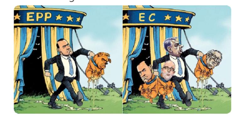 Szegény Kovács Zoltán nem jött rá, hogy Orbánt mennyire megszívatták, rajta nevet a fél Twitter