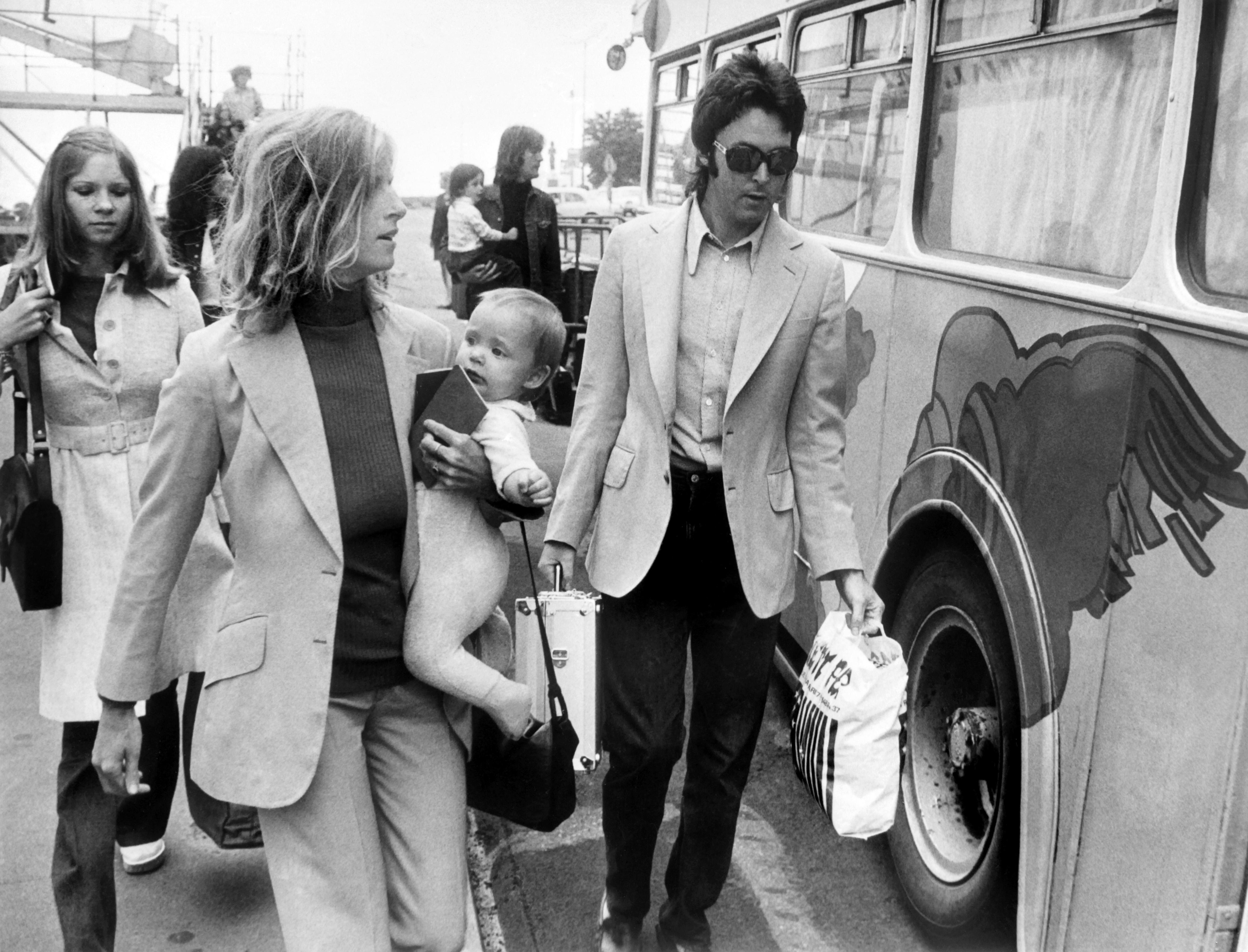 Kiállítást rendezett elhunyt felesége fotóiból Paul McCartney