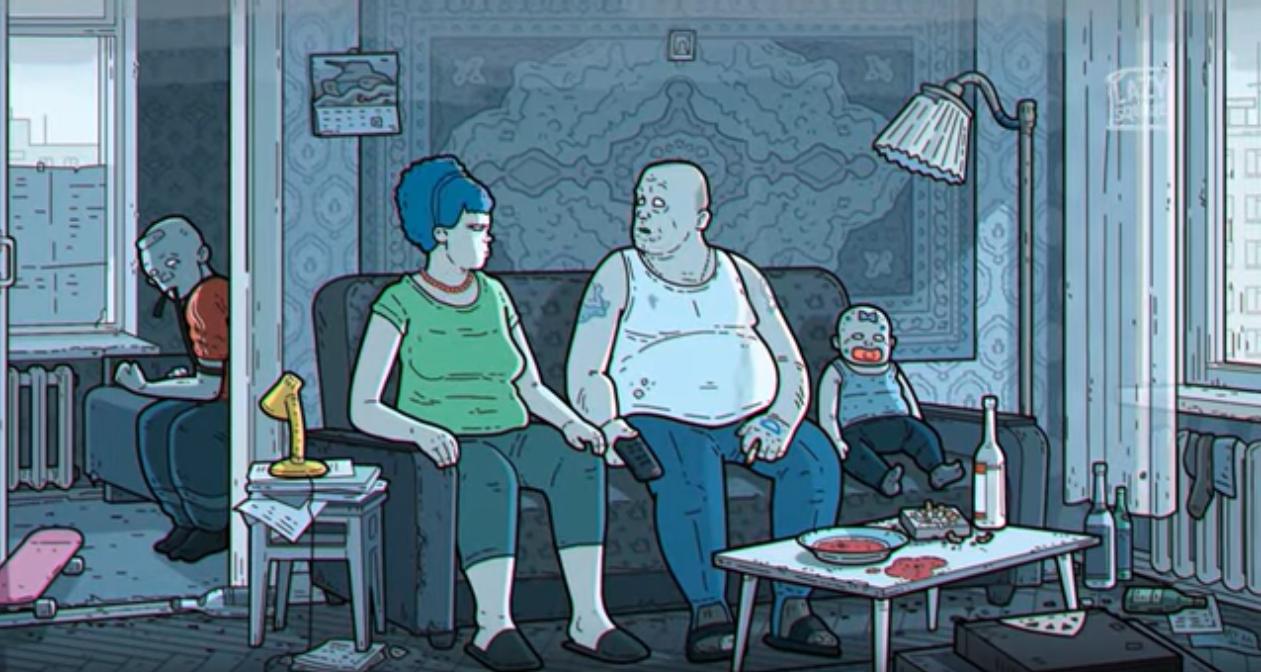 Láttad már a Simpson család intrójának oroszosított verzióját?
