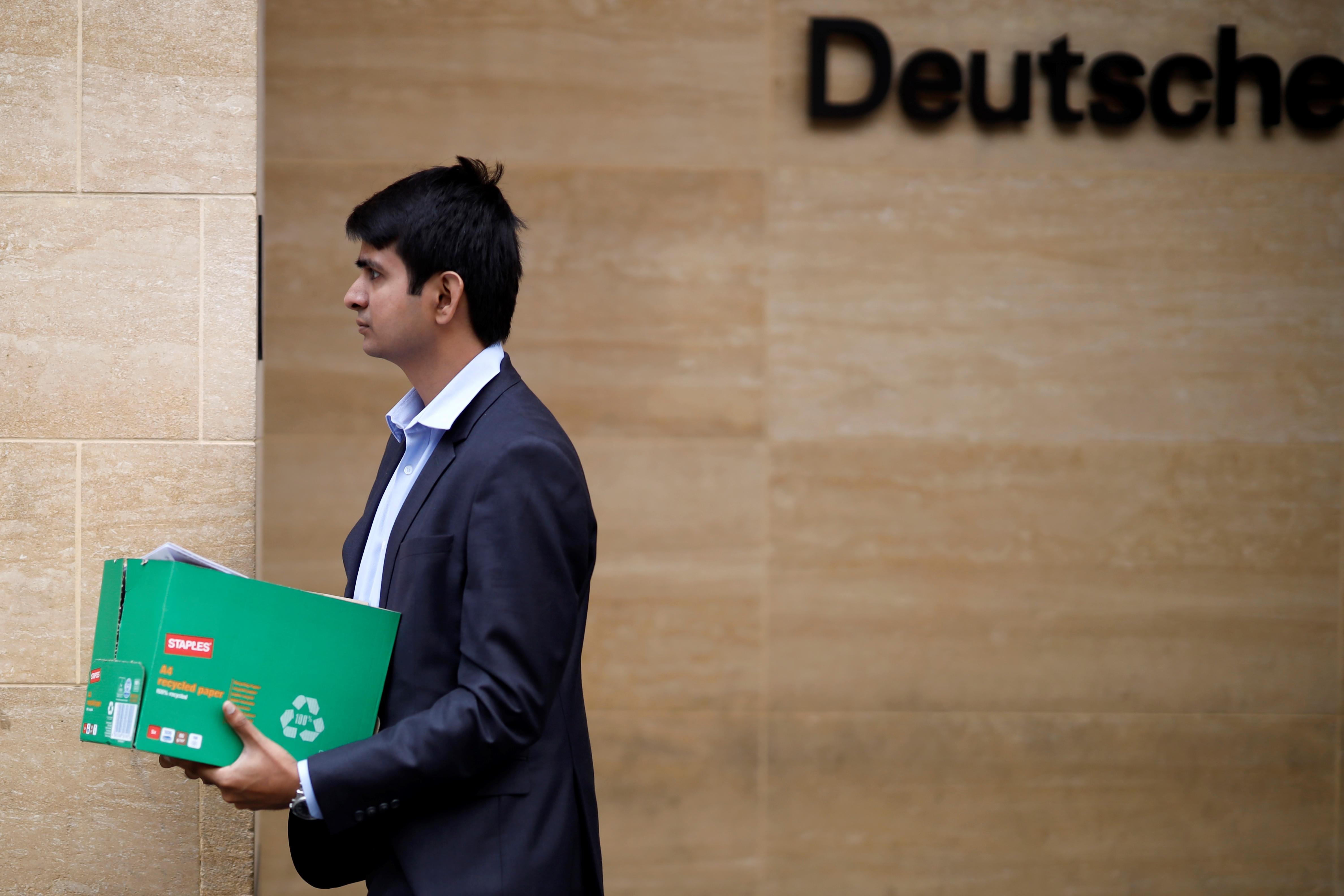 Megkezdték a tömeges leépítést a Deutsche Banknál