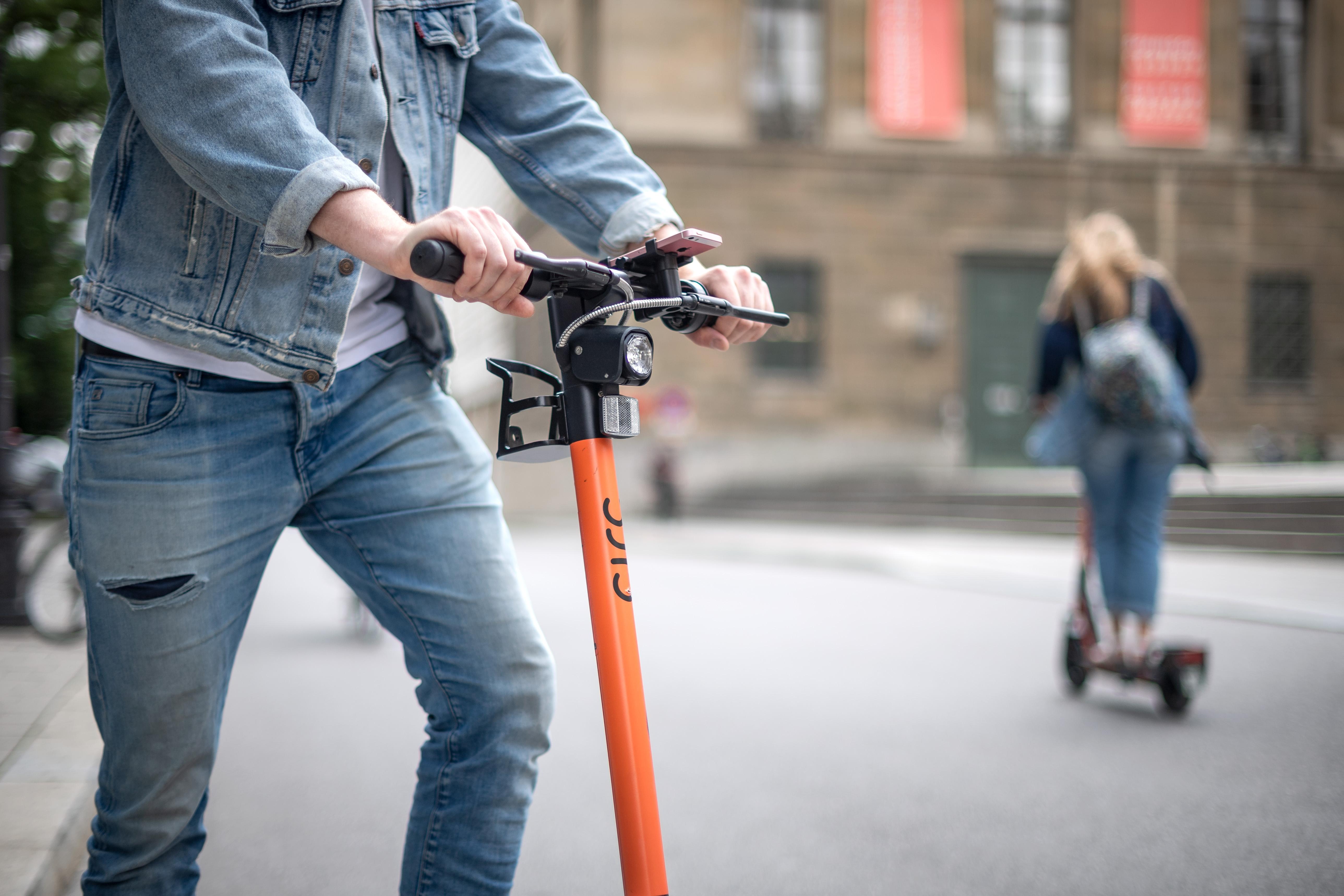 A koppenhágai rendőrök lecsaptak a részegen rollerezőkre