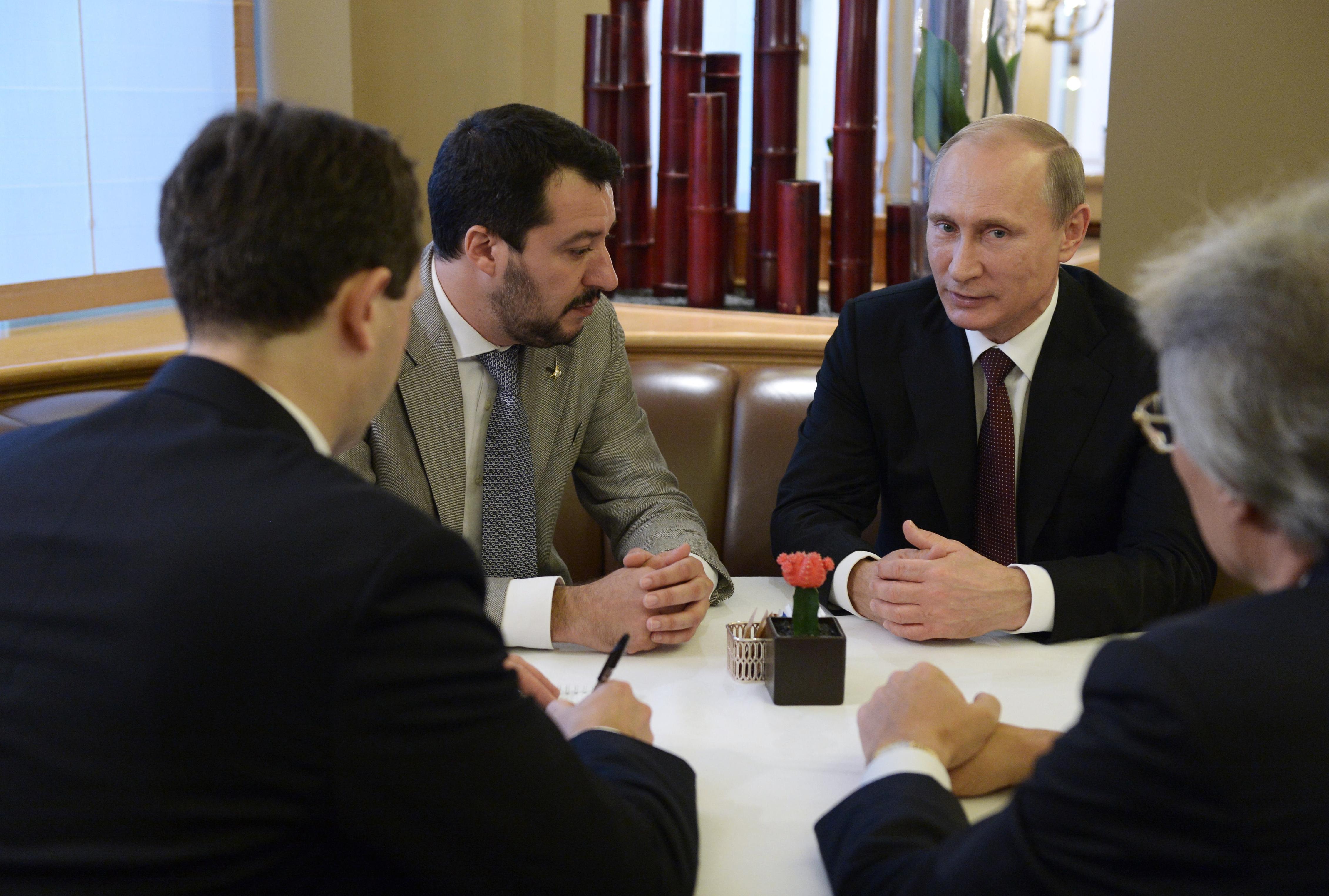 Salvini embere tagadja, hogy pénzt fogadott volna el az oroszoktól