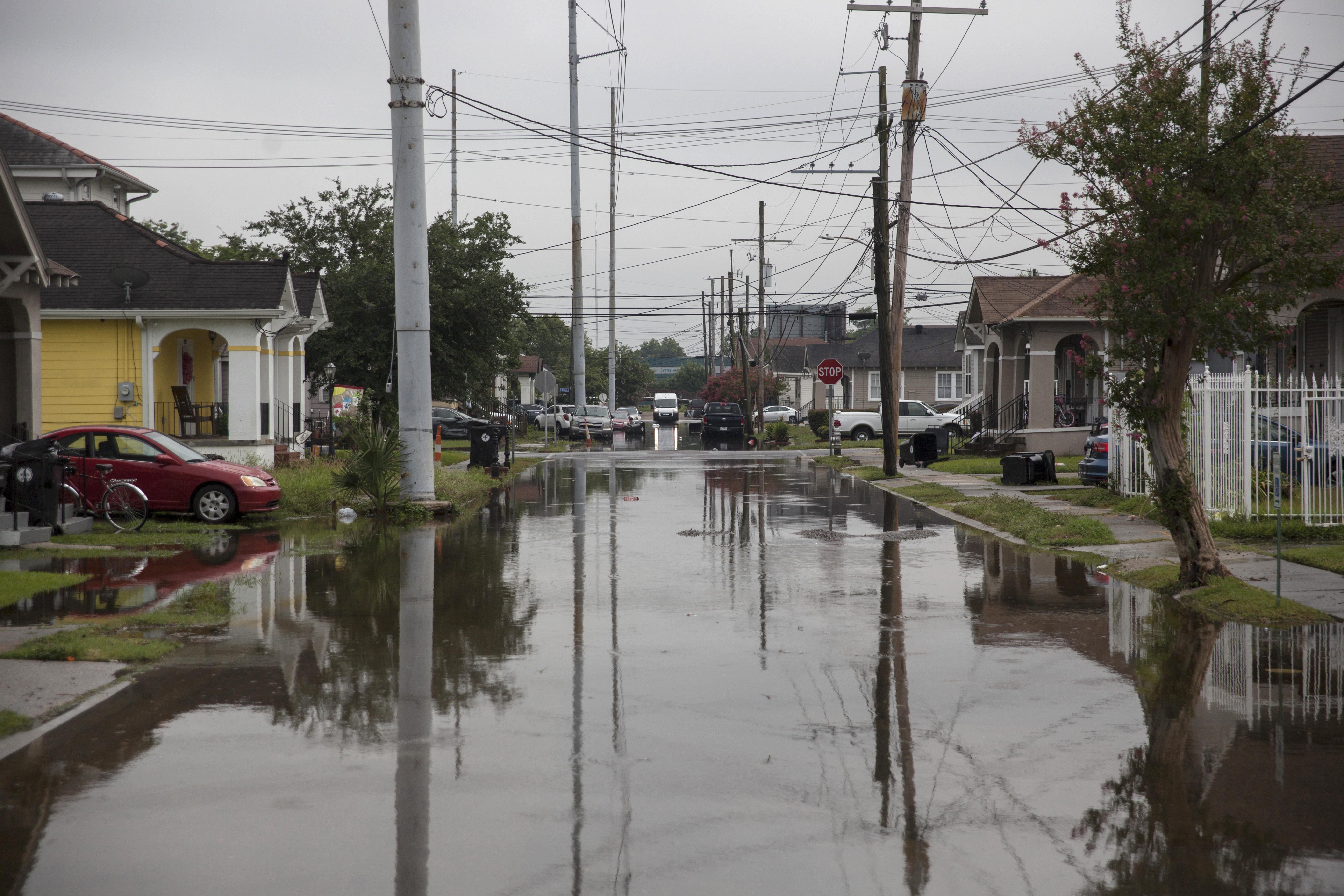 Szükségállapotot hirdettek New Orleansben az esőzések miatt