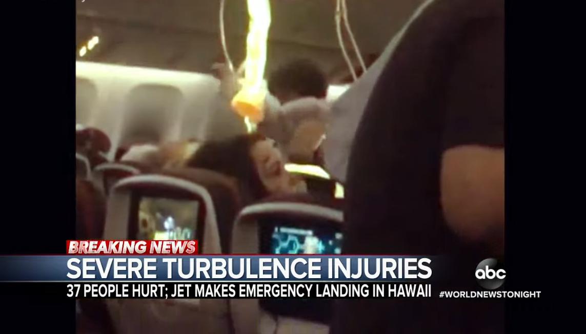 37 utas megsérült, mert hirtelen légörvénybe keveredett az Air Canada járata