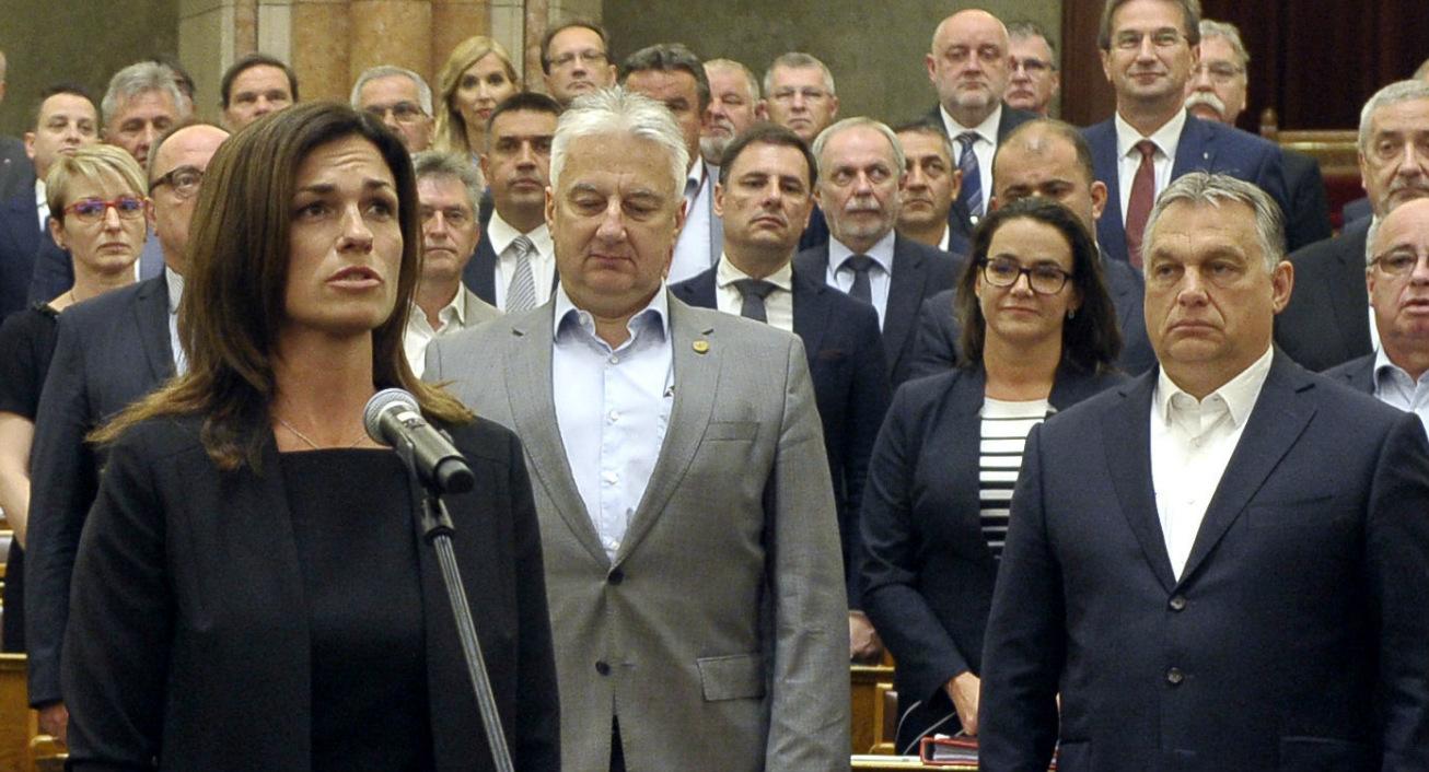 Varga Judit elfogadhatatlannak tartja, hogy az uniós pénzek  kifizetését a jogállamisághoz kötnék
