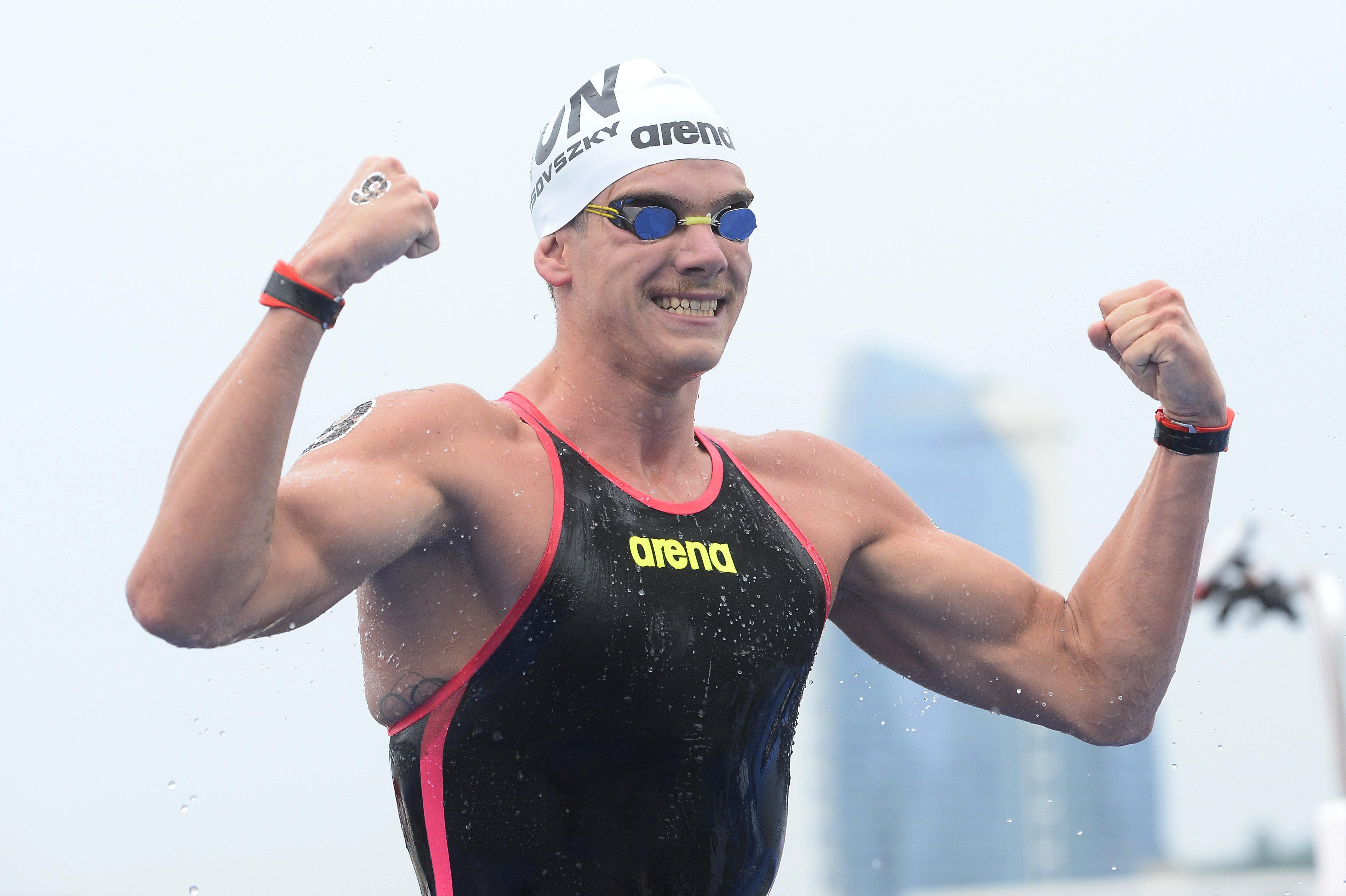 Rasovszky Kristóf az 5 kilométeres nyíltvízi úszás világbajnoka