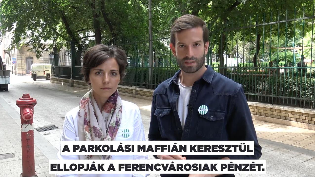 Furcsa kanyarokkal politizált a Momentum jelöltje a Ferencvárosban