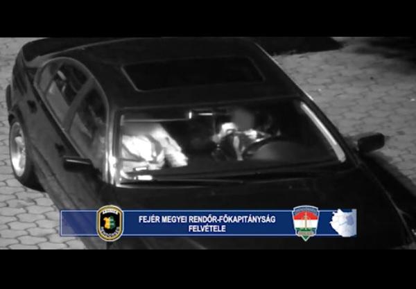 Pont a térfigyelő kamera alatt speedezett két dunaújvárosi fiatal