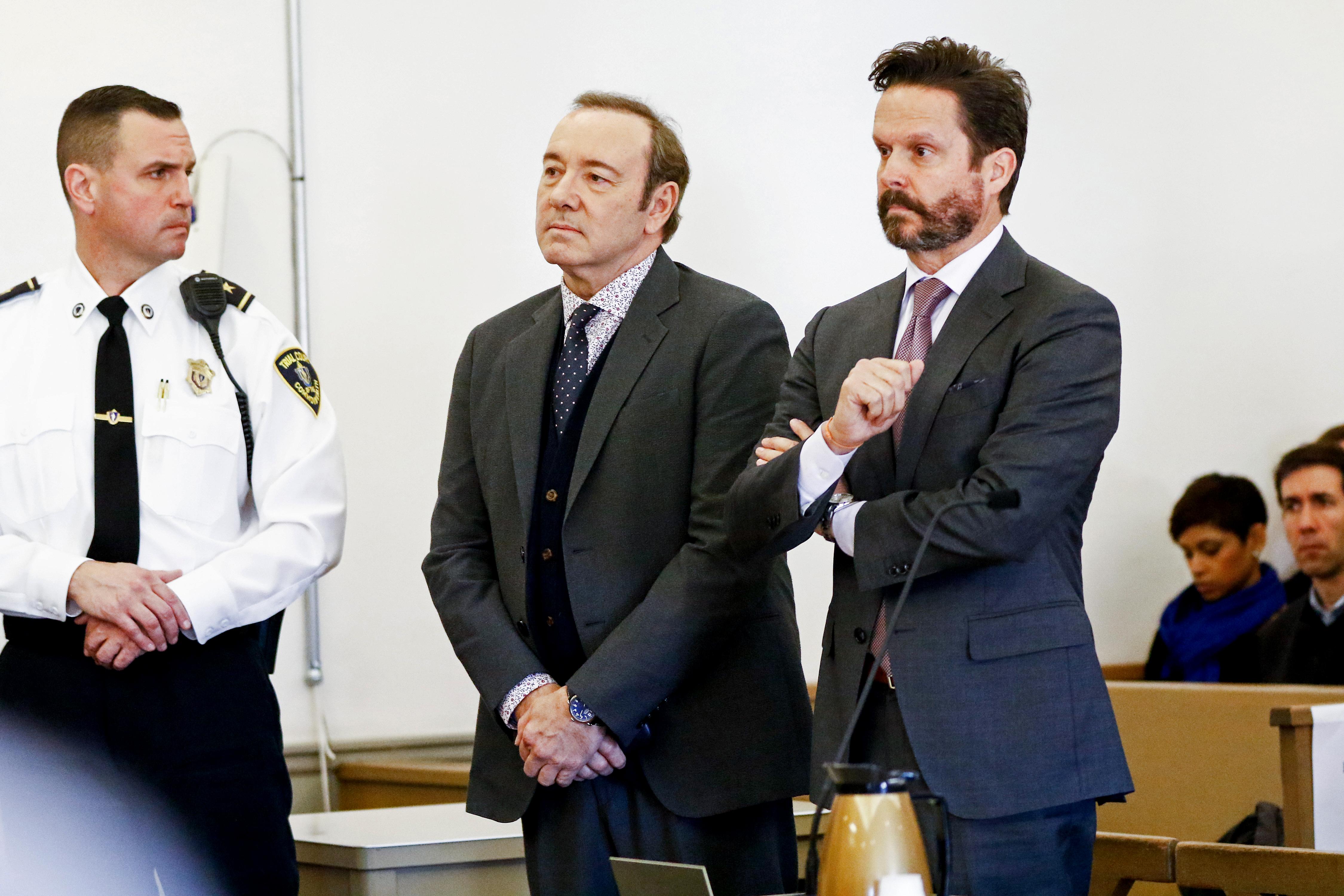 Ejtették a vádat Kevin Spacey egyik zaklatási ügyében