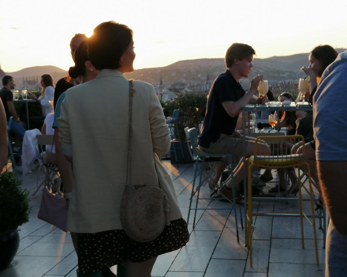 A buli, ahol a leglátványosabb a naplemente