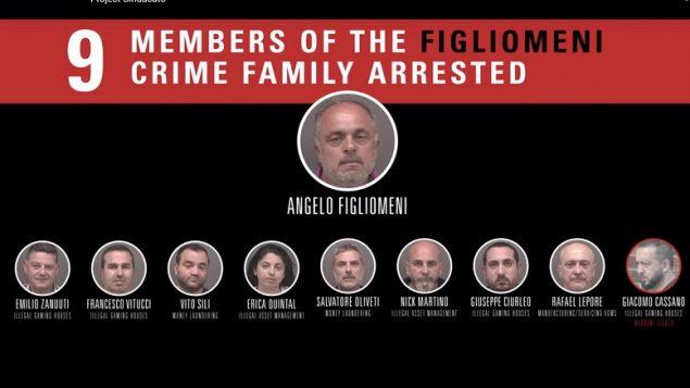 Kanadában tartóztatták le a calabriai maffia tagjait