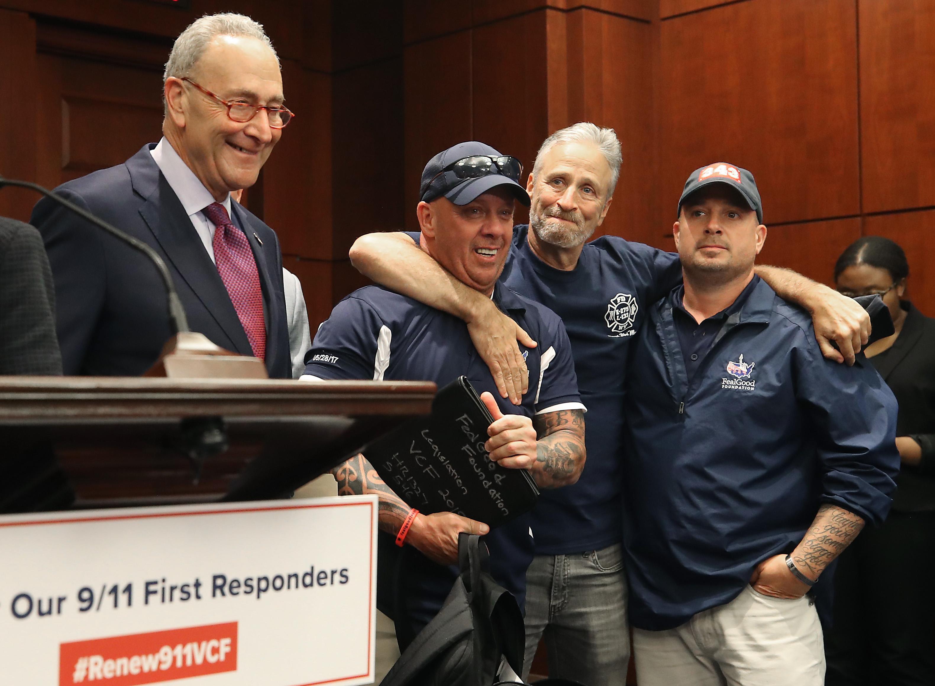 Az amerikai szenátus is megszavazta, hogy soha ne fogyjon ki a szeptember 11-i terrortámadások utáni mentési munkákban résztvevők kárpótlási alapja