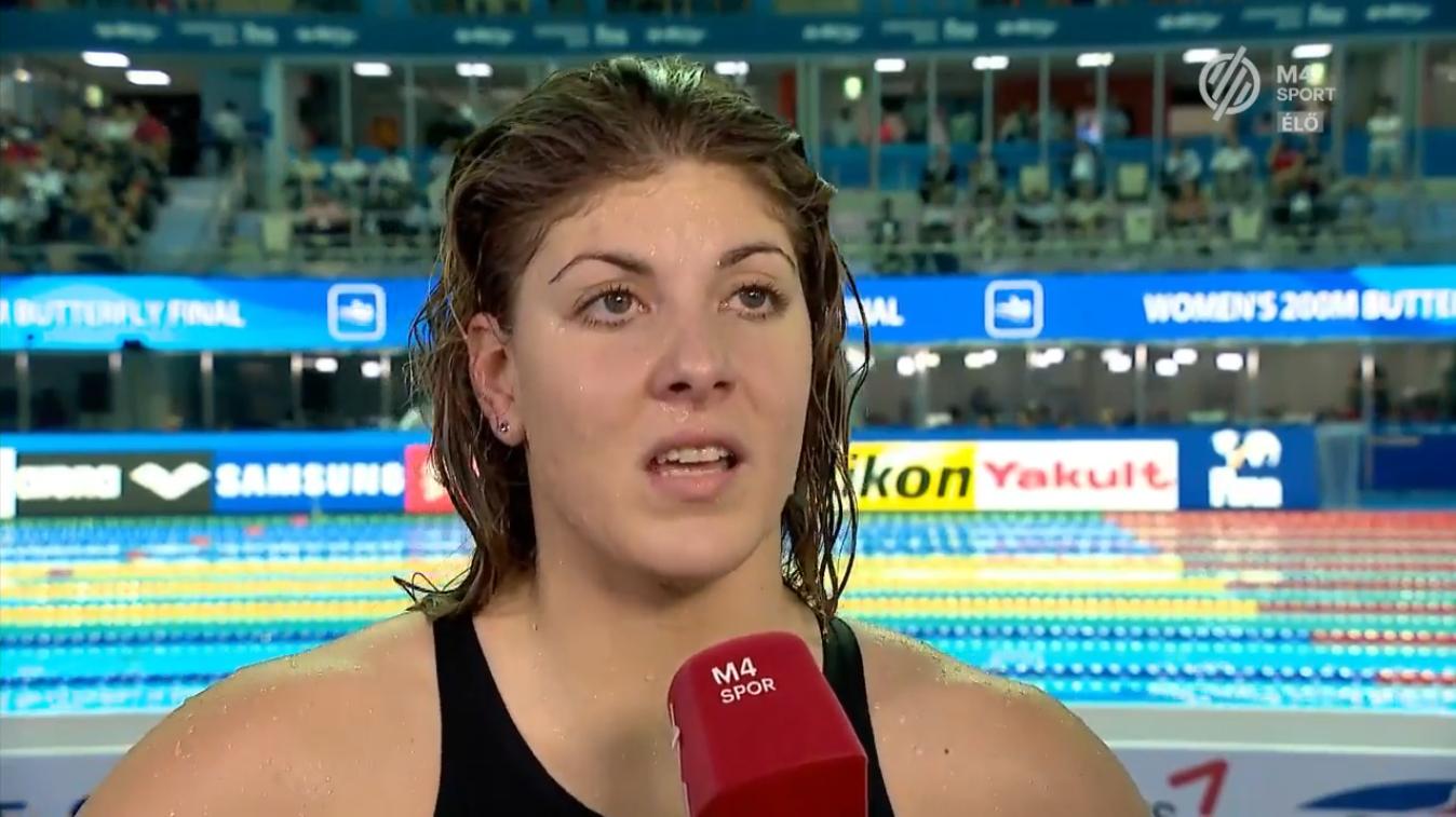 """Rejtélyes interjút adott a magyar úszónő, amiben arról beszél, hogy """"ki voltam ábrándulva abból a rendszerből, amiben benne vagyunk"""""""