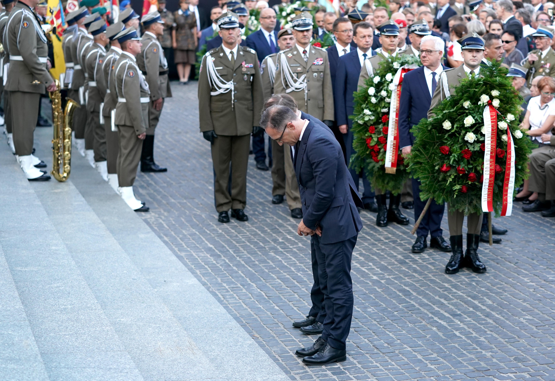 A német külügyminiszter a náci megszállókkal szembeni lengyel ellenállást méltatta Varsóban