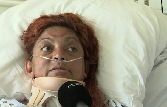 Egy belga nő a legnagyobb melegben 6 napra beragadt a kocsijába, de túlélte