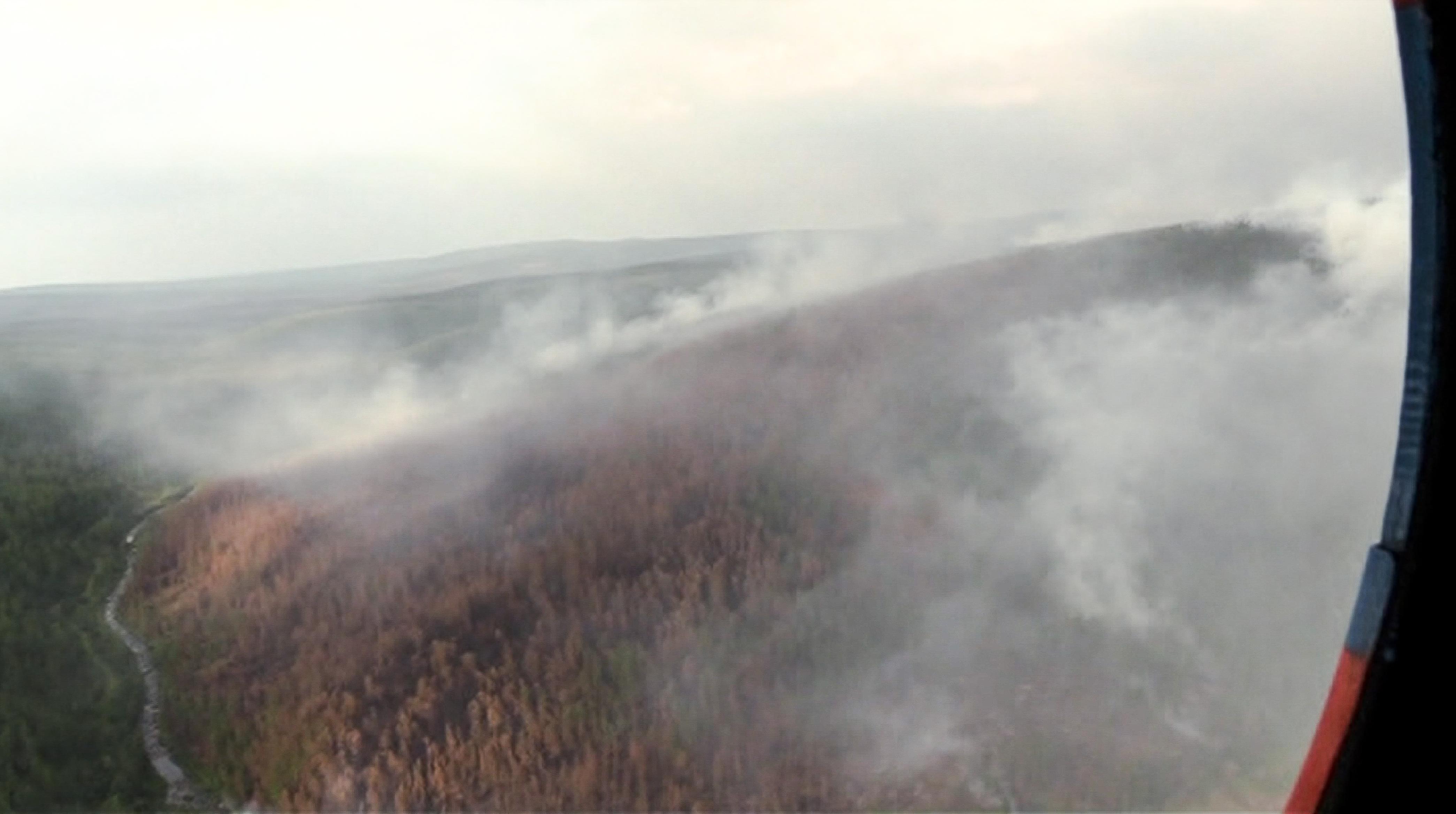 A szibériai erdőtűz füstje már Alaszkát és Kanadát is megcsapta