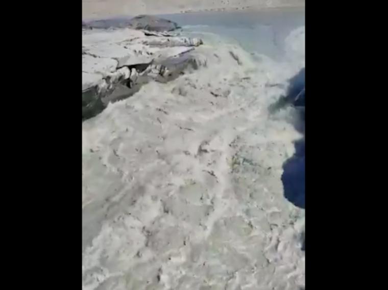 Csütörtökön egyetlen nap alatt 11 milliárd tonna jég olvadt el Grönlandon