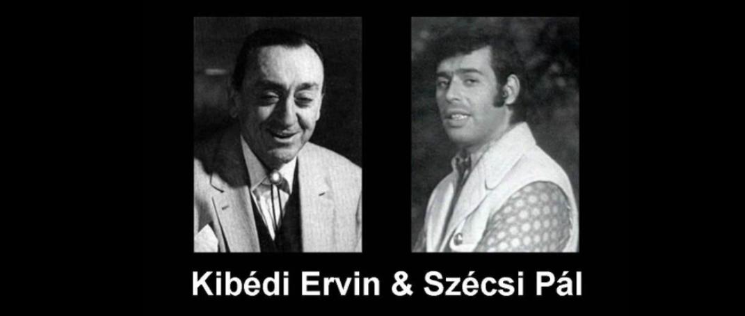 Hatalmas buli volt a mai este, Kibédi Ervin és Szécsi Pali barátaimmal  búcsúzunk