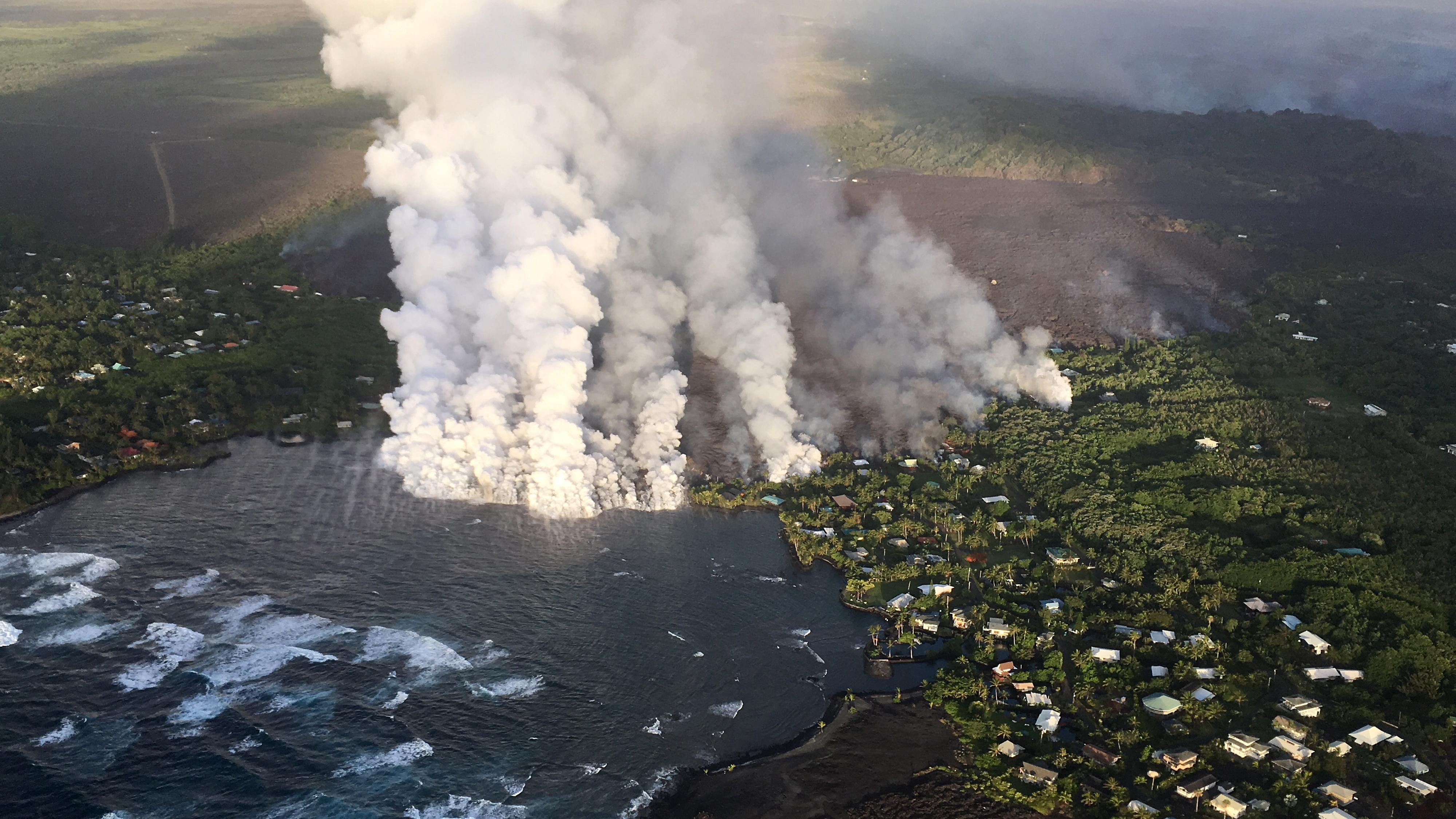Vizet fedeztek fel Hawaii egyik vulkánjában, óriási robbanástól tartanak a kutatók