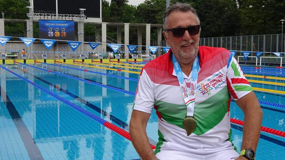 A Mazsihisz elnöke aranyérmet nyert a Maccabi játékokon