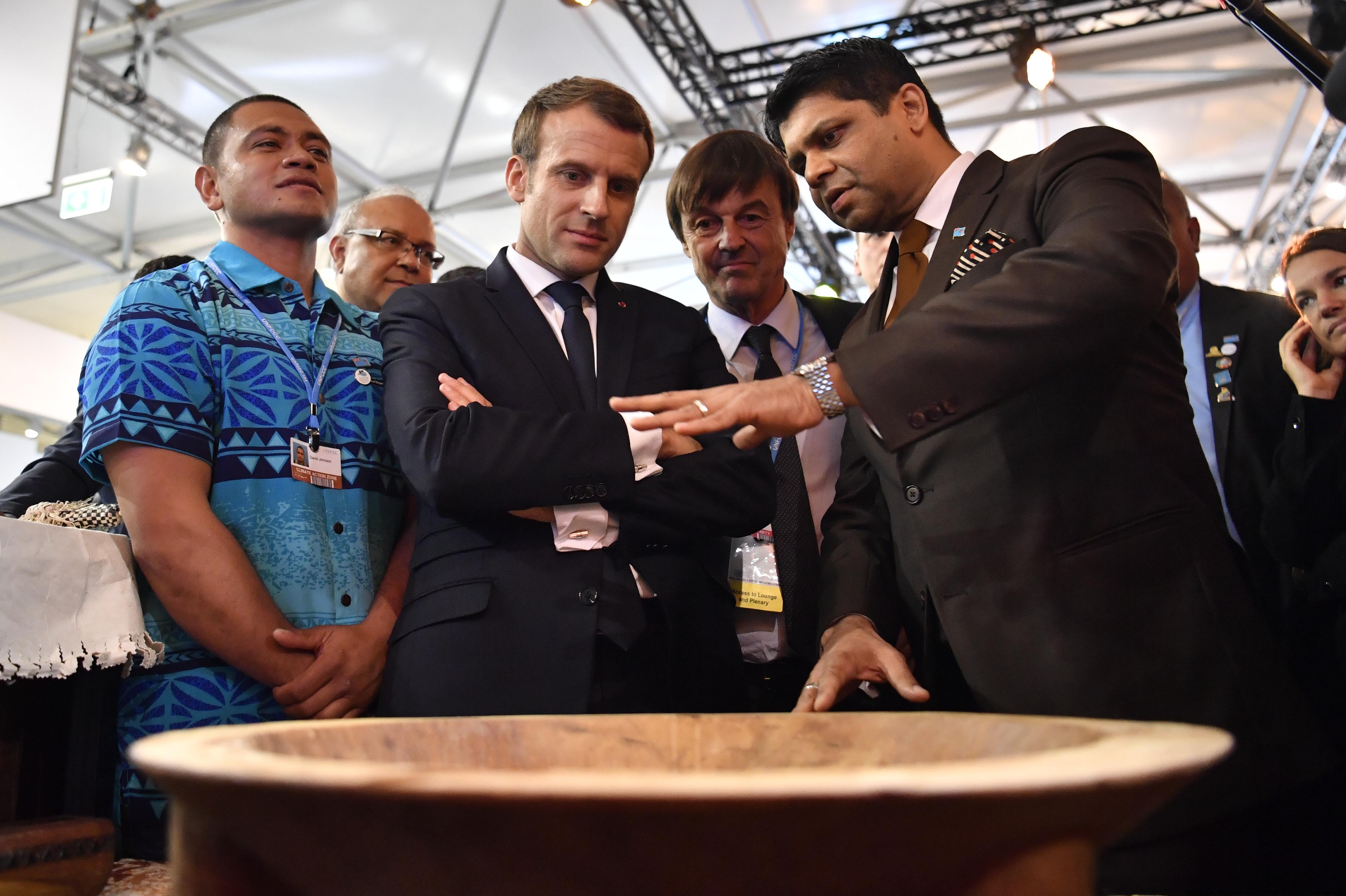 Az életünkért küzdünk, mondta Fiji klímaváltozásügyi minisztere