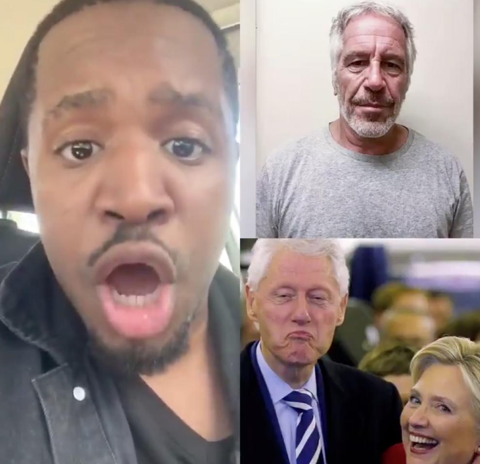 Trump is terjeszti a teóriát arról, hogy a Clintonok állhattak a tinilányokat futtató Jeffrey Epstein halála mögött