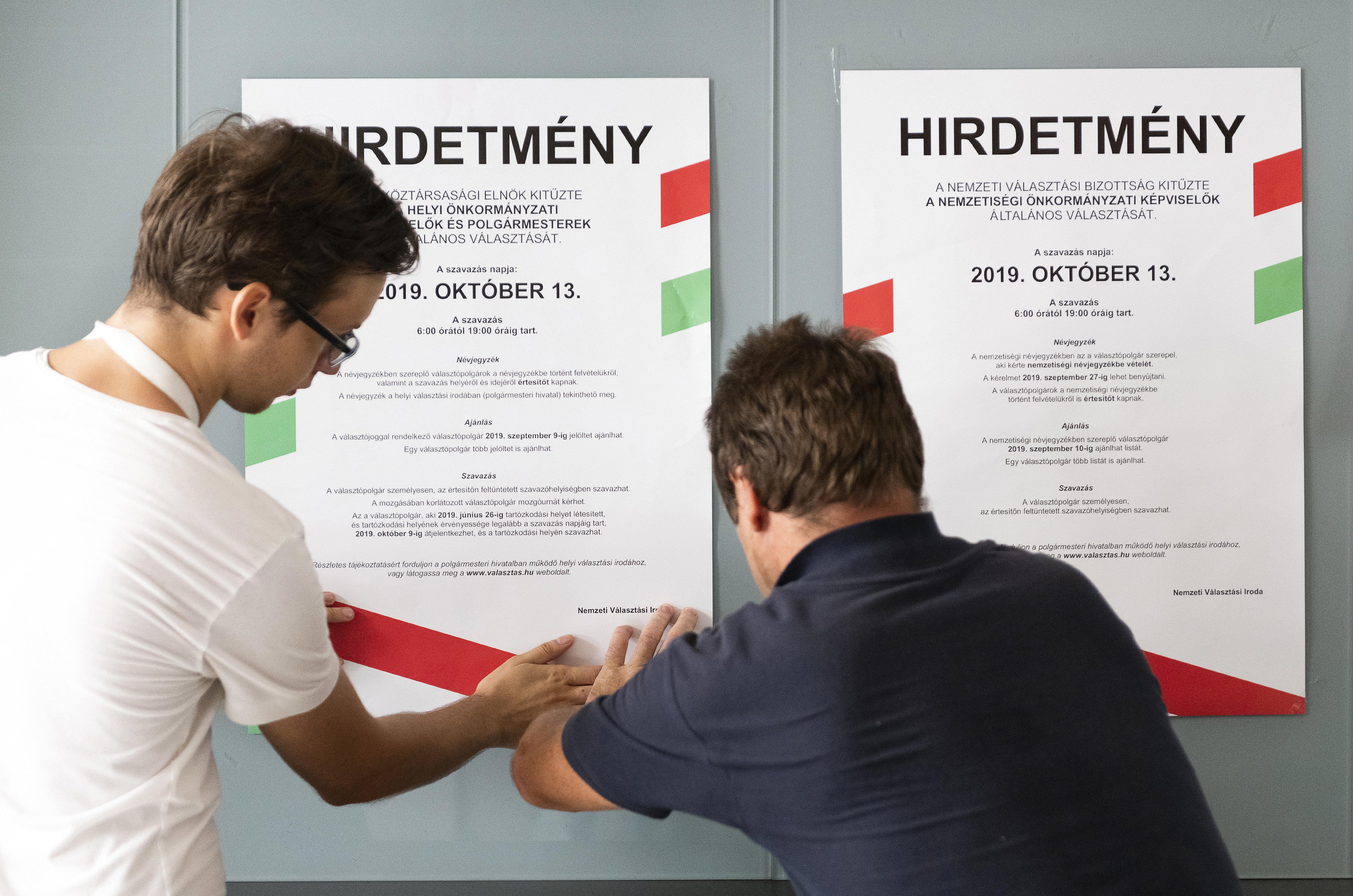Még harmad annyi delegáltat sem küldtek a választási bizottságokba, mint öt éve