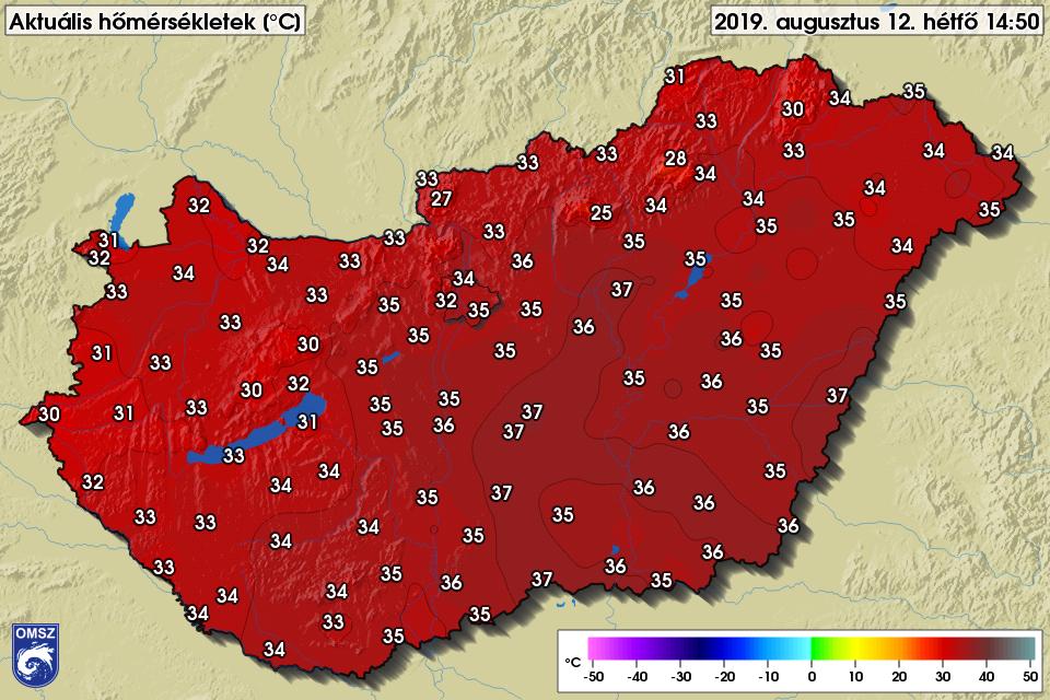 Ez az év eddigi legmelegebb napja