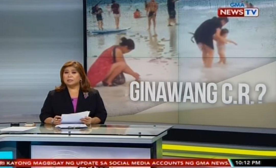 Három napra lezártak egy Fülöp-szigeteki strandot, mert egy nő elásott egy pelenkát