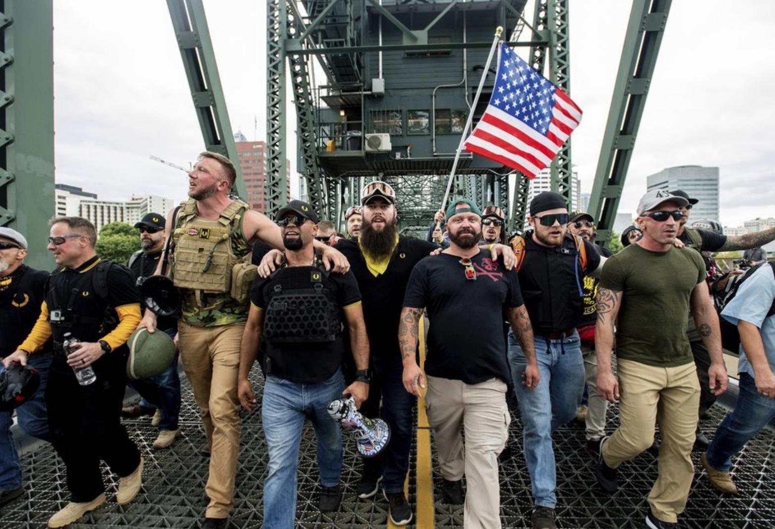 Neofasiszták és antifasiszták néztek farkasszemet Portlandben