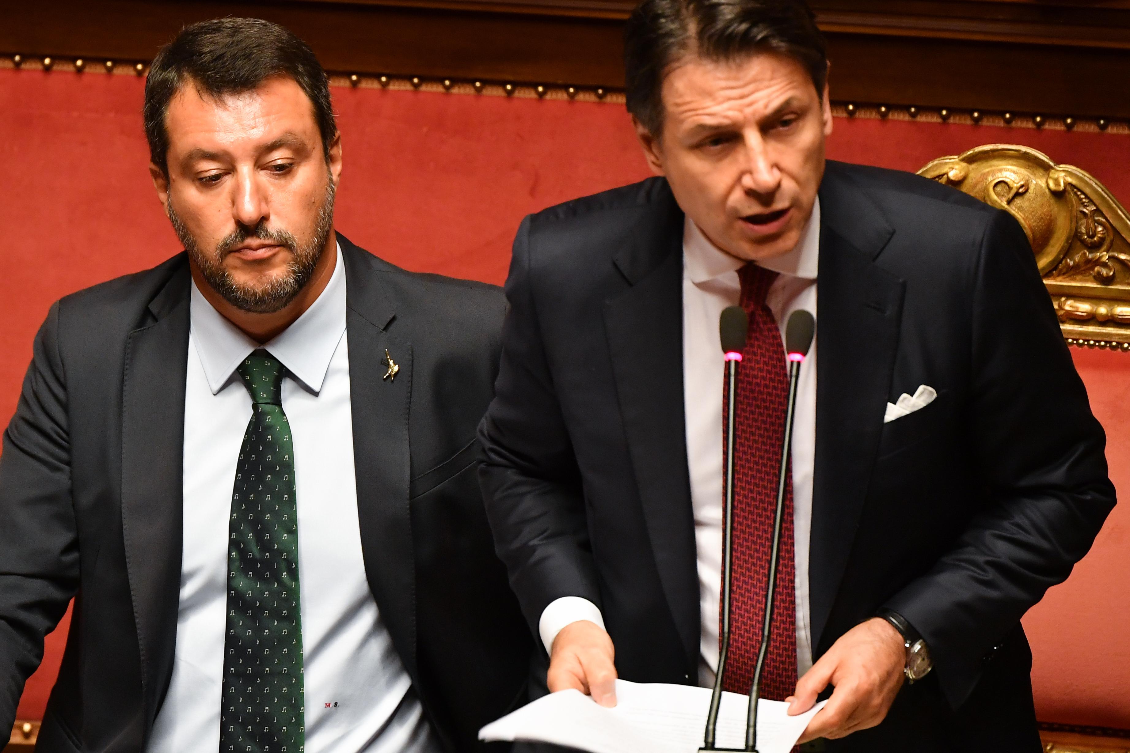 Lemondott az olasz miniszterelnök Salvini kavarásai miatt