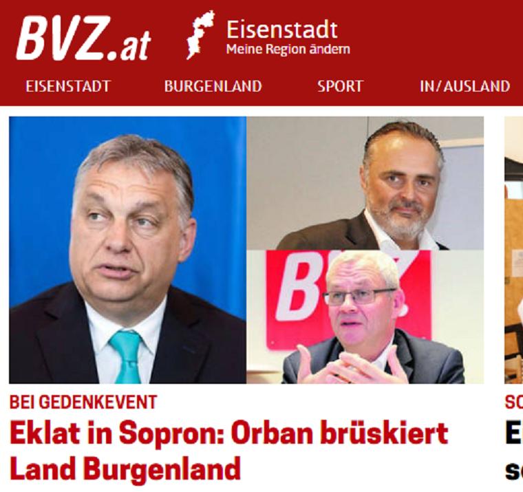 A TEK elismerte, hogy ők nem engedték be Burgenland kormányzóját Merkelhez és Orbánhoz Sopronban